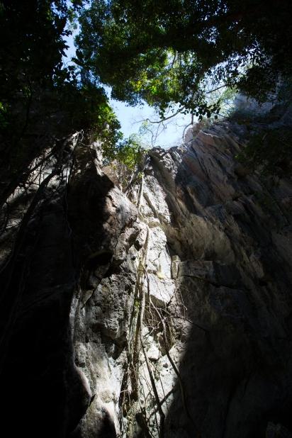 Rocky, Capricorn Caves